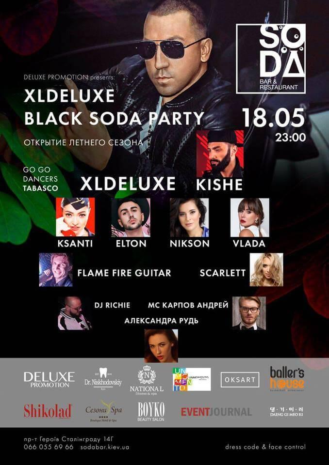 XLDeluxe Black Soda Party