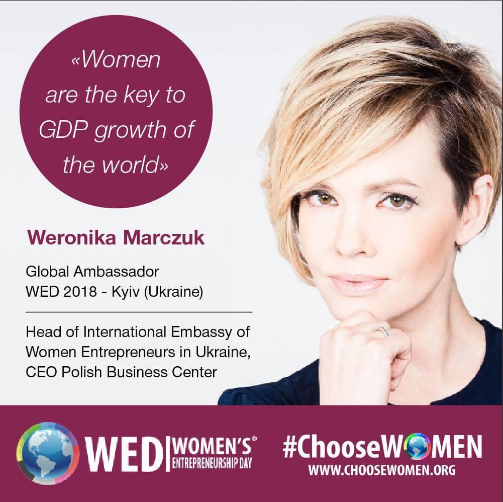 В Україні відсвяткували Всесвітній день жіночого підприємництва