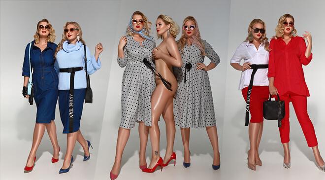 Український дизайнер Андре Тан показав, що носити взимку дівчатам Plus size