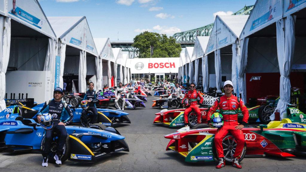 Компанія Bosch буде офіційним партнером перших у світі перегонів електромобілів формульного типу