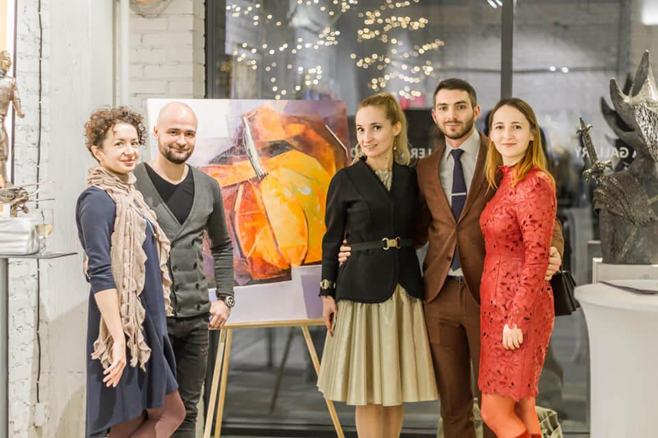 Відбулося грандіозне відкриття нової арт-локації Lera Litvinova Gallery