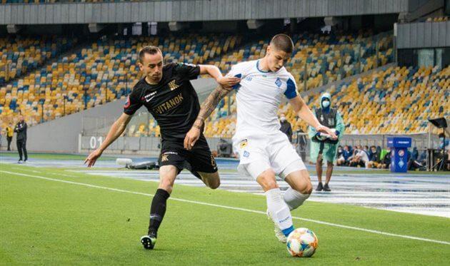 «Динамо» програло «Колосу» і ледь не залишилося без Ліги чемпіонів
