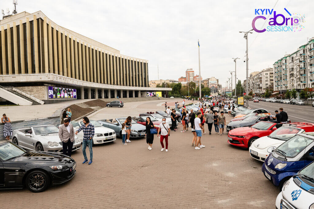У Києві з розмахом пройшов перший фестиваль кабріолетів KYIV CABRIO SESSION