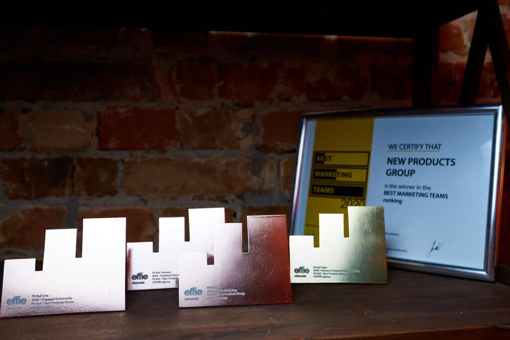 Група Компаній «Нові Продукти» та енергетичний бренд PIT BULL презентували нову соціально значущу концепцію, здобули золоту нагороду і стали тріумфаторами Effie Awards Ukraine 2020