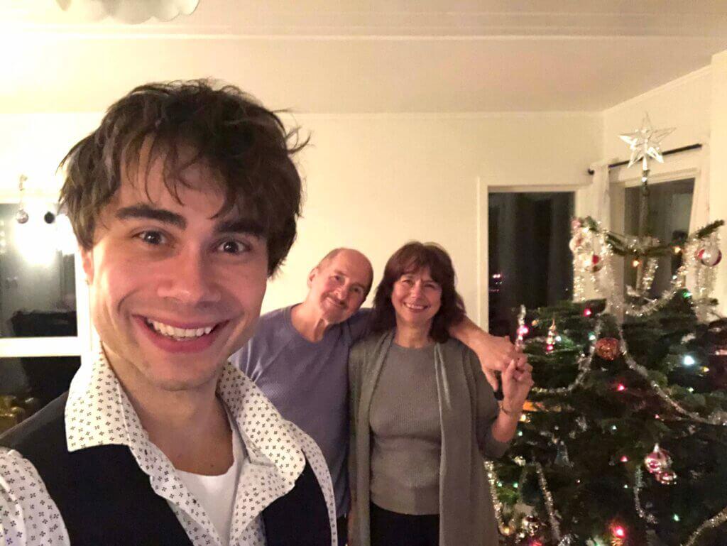 Найбільш сімейний Новий рік: як українські артисти зустріли 2021
